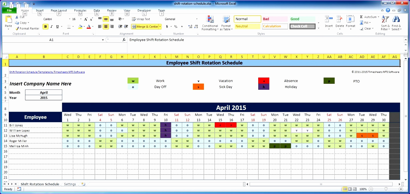 Excel Timesheet Template with formulas for 6 Excel Timesheet Template with formulas Exceltemplates