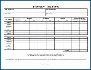 Simple Timesheet Template for Free Employee Time Tracking Spreadsheet Template 1105