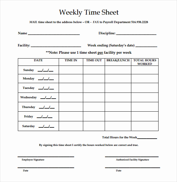 Simple Timesheet Template then Simple Time Sheet – Emmamcintyrephotography