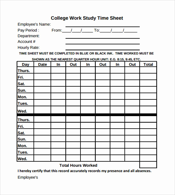 Timesheet for Work Hours and Sample Work Timesheet Calculator 11 Documents In Pdf Word