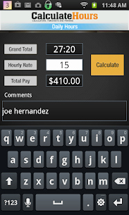 Timesheet for Work Hours for Calculate Work Hours Timesheet Apps On Google Play