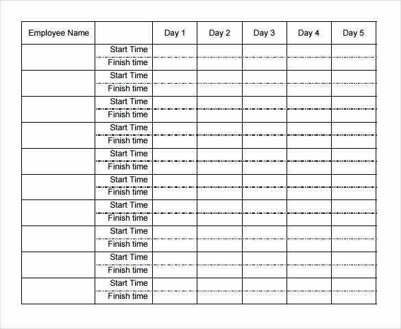 Timesheet Template for Multiple Employees then 29 Free Timesheet Templates – Free Sample Example format