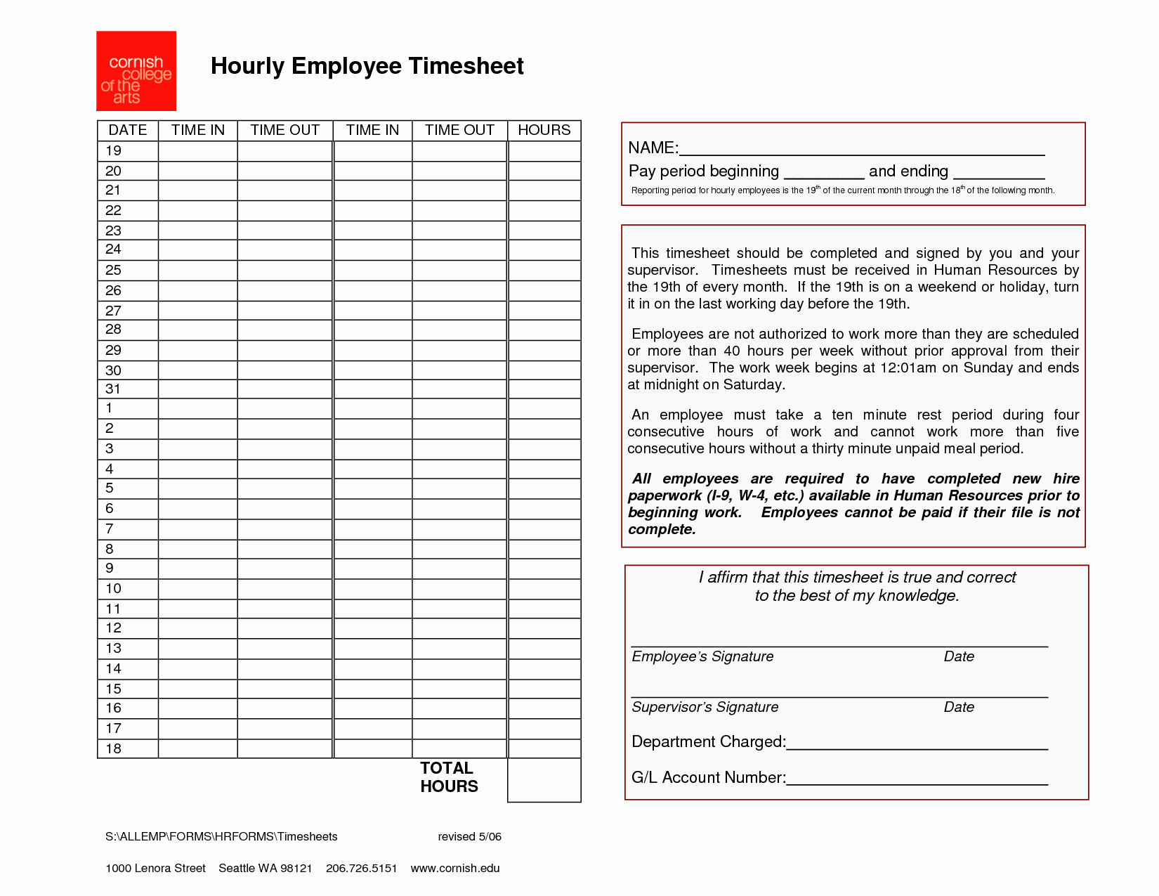 Timesheet Template for Multiple Employees then Employee Timesheet Template