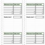 Appleone Timesheet and How to Calculate Hours A Timesheet and Timesheet In