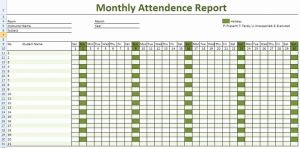 Attendance Time Sheet Template Of Daily Employee attendance Sheet In Excel Template