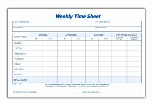 Attendance Time Sheet Template then Printable Pdf Timesheets for Employees