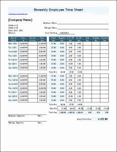 Clock In Clock Out Timesheet then Download the Timesheet with Breaks In Minutes California
