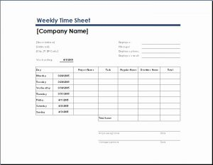 Daily Time Sheet format In Excel Of Ms Excel Ficial Time Sheet Templates