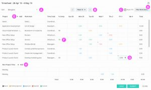 How to Fill Out A Weekly Time Sheet Of Filling Weekly Timesheets Celoxis