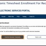 Ihss Electronic Timesheets Website for Enrolling and Stopping Enrollment for Recipients