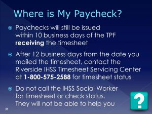 Ihss Timesheet Replacement for Ppt Timesheet Processing and Case Management Information
