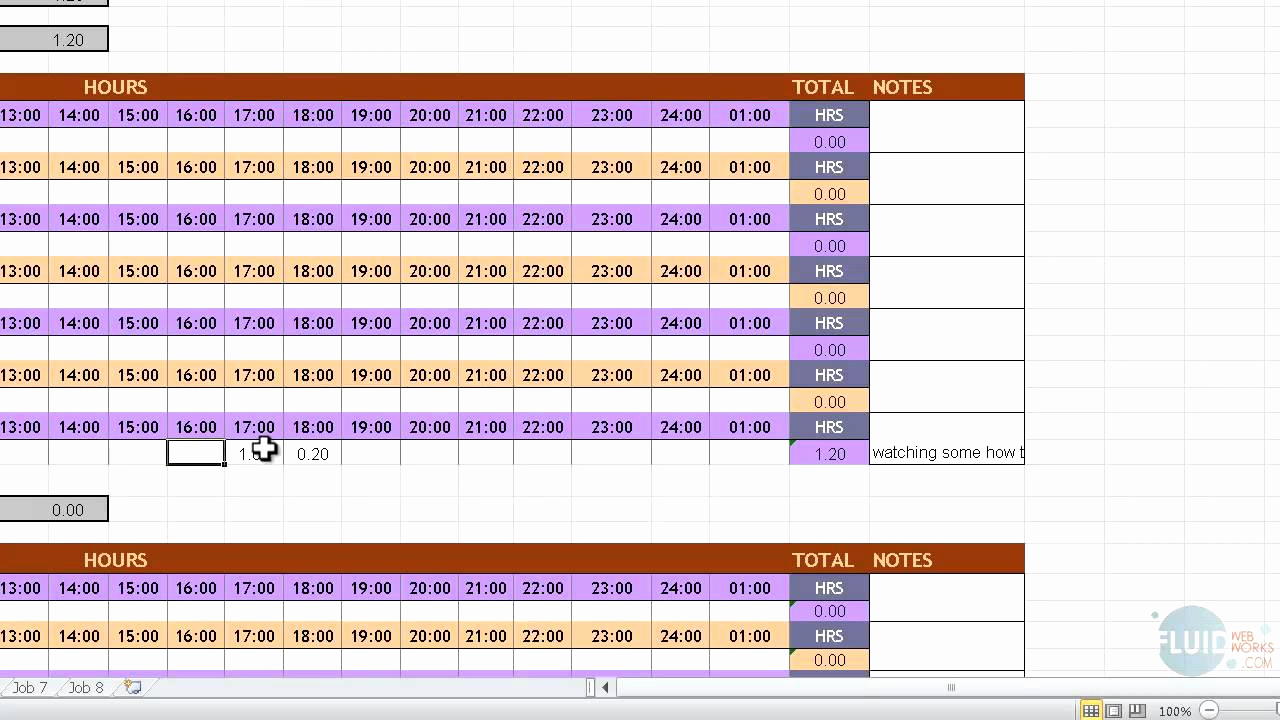 Ihss Timesheet Sample