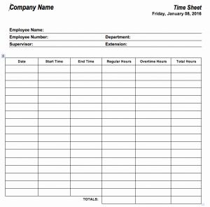 Labor Time Sheet or 6 Free Timesheet Templates for Tracking Employee Hours