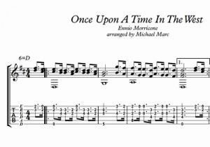 Once Upon A Time In the West Sheet Music for Michael Marc Ce Upon A Time In the West Sheet Music
