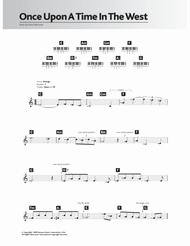 Once Upon A Time In the West Sheet Music then Download Ce Upon A Time In the West theme Sheet Music