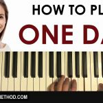 One Day at A Time Sheet Music then How to Play Tate Mcrae E Day Piano Tutorial Lesson