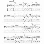 Somewhere In Time Sheet Music or Barry somewhere In Time Sheet Music for Guitar solo [pdf]