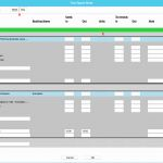 Time Reporting Sheet and Time Report Sheet for Desktop Application Users
