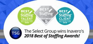 Select Staffing Timesheet or Tsg Wins Inavero S 2018 Best Of Staffing Client Diamond