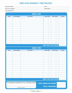 Bi Weekly Time Sheets Printable Of Download Biweekly Timesheet Template Excel Pdf