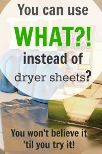 How Many Times Can You Use A Dryer Sheet then You Can Use What Instead Of Dryer Sheets