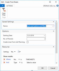 How to Set Up A Timesheet In Numbers for Setting Up and Using Time Sheets In Microsoft Dynamics Nav