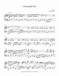 In the Time that You Gave Me Sheet Music then Give Me Jesus Free Piano Hymn Arrangement to Print From