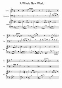 Tale as Old as Time Piano solo Sheet Music for Tale as Old as Time Quartet Arr Musescore