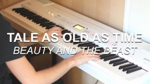 """Tale as Old as Time Piano solo Sheet Music or """"tale as Old as Time Beauty and the Beast """" Piano Cover"""
