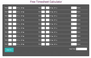 Timesheets Com App Of Free Timesheet Calculator the Timesheets Journal