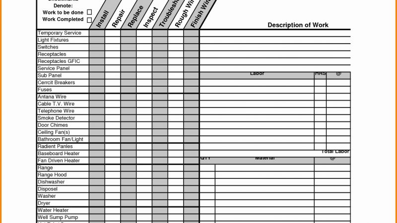 Construction Expenses Timesheet