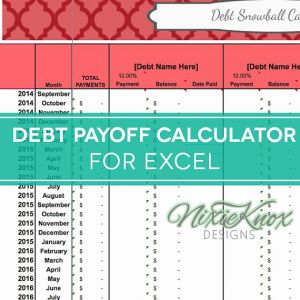 Credit Card Budget Timesheet Of Debt Payoff Spreadsheet Debt Snowball Excel Credit Card Payment Elimination Paydown Tracker