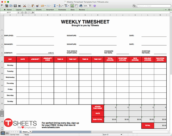 How to Make A Business Timesheet