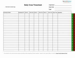 Proposal Tracking Timesheet and Daily Group Timesheet Timesheets Pinterest