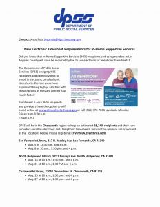 Wedding Venue Timesheet for Workshop for In Home Support Services Timesheets – northridge West Neighborhood Council Nwnc
