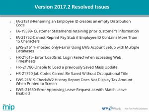 Whats A Timesheet 2 and Advanced Reporting Tips & What's New In Abila Mip 2017 2