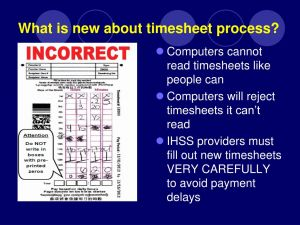 Whats A Timesheet 2 for Ppt Cmips Ii and You Powerpoint Presentation Free Id
