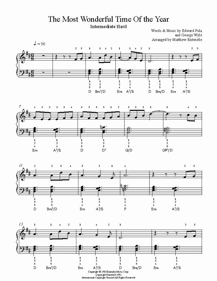 Christmas is A Time to Love Piano Sheet Music