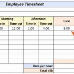 Create Timesheet Of How to Create A Timesheet In Excel 5 Free Templates