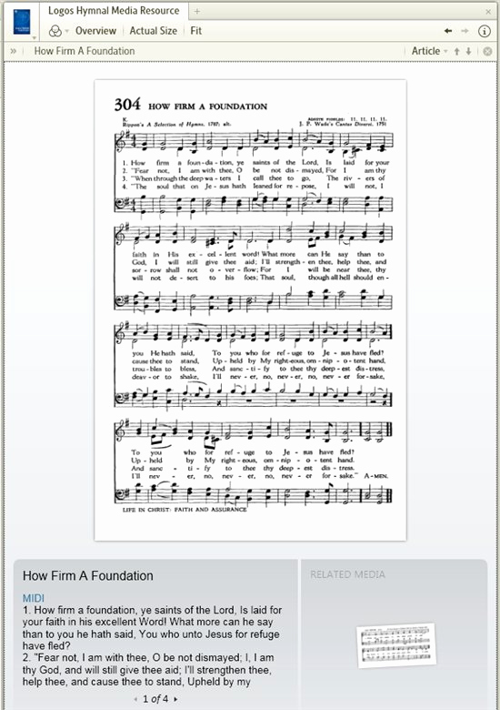 In Times Like these Hymn Sheet Music