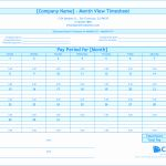 Monthly attendance Sheet with Time In Excel Free Download Of Free Monthly Timesheet Template