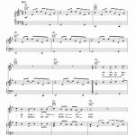 Time Of My Life Piano Sheet Music Of Good Riddance Time Your Life Sheet Music by Glee Cast