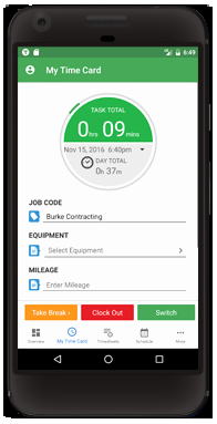 Timesheet App for android and iPhone
