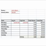 Weekly Timesheet Calculator then Time Card Calculator Excel