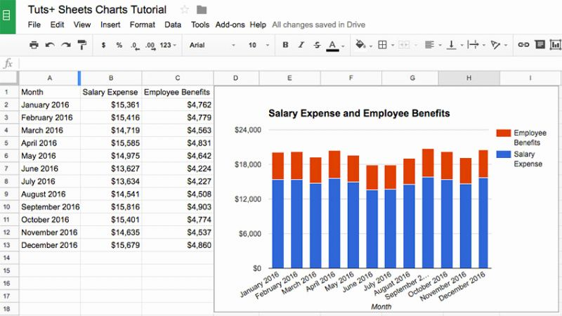 How to Create An Excel Timesheet In Google Docs