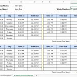 Job Tracking Timesheet Of Excel Time Tracking 4 Templates Pros and Cons and Alternatives