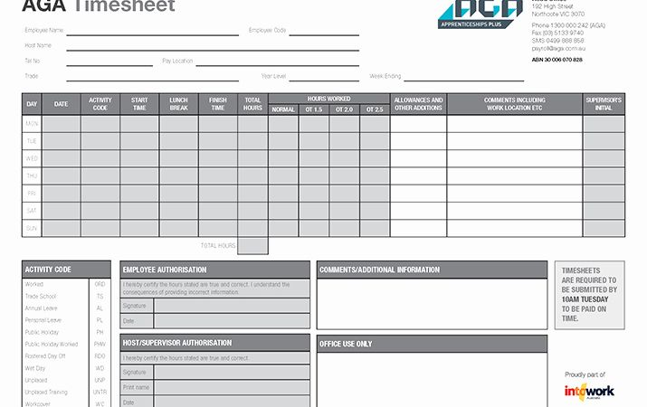 Labels are Used In A Timesheet to