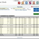 Schedule Of Values Timesheet then theclock Review Time Tracking Payroll and Billing Made Easy