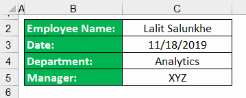 Combine Timesheets In Excel