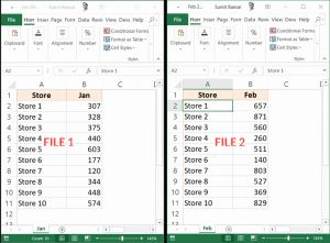 Compare 2 Excel Timesheets then How to Pare Two Excel Sheets for Differences